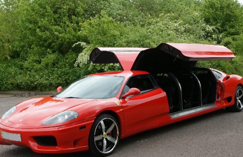 Ferrari Limo American Coach Limousine Chicago Il